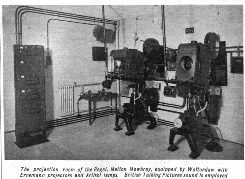 Melton Mowbray (Leicestershire), Regal Cinema