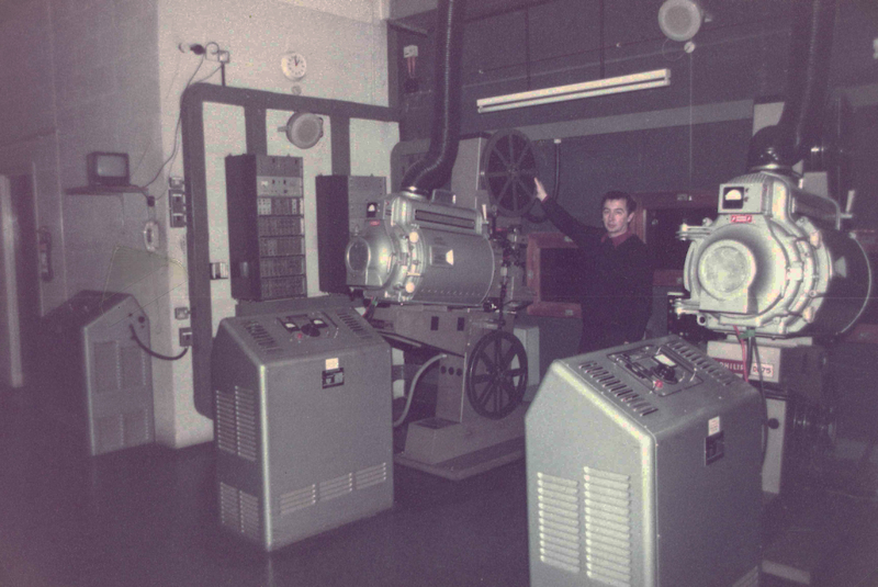 Projection box - A.B.C. Coventry (1984)