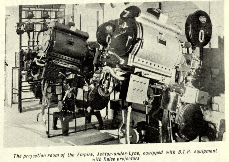 Ashton-under-Lyne (Greater Manchester), Empire
