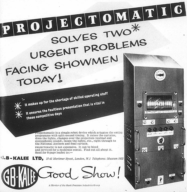 Advert: Projectomatic (1956)